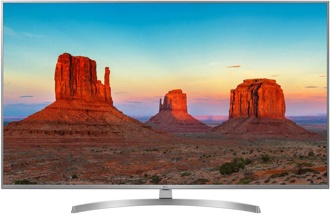 Телевизор LG 49UK7500 49, темно-серый телевизор led lg 55 oled55e8pla черный ultra hd 100hz dvb t2 dvb c dvb s2 usb wifi smart tv rus