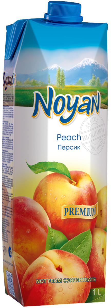 Noyan Персиковый нектар Premium, 1 л