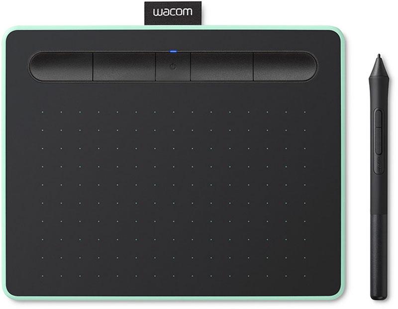 Графический планшет Wacom Intuos M Bluetooth Pistachio CTL-6100WLE-N, Pistachio графический планшет wacom intuos m bluetooth pistachio ctl 6100wle n