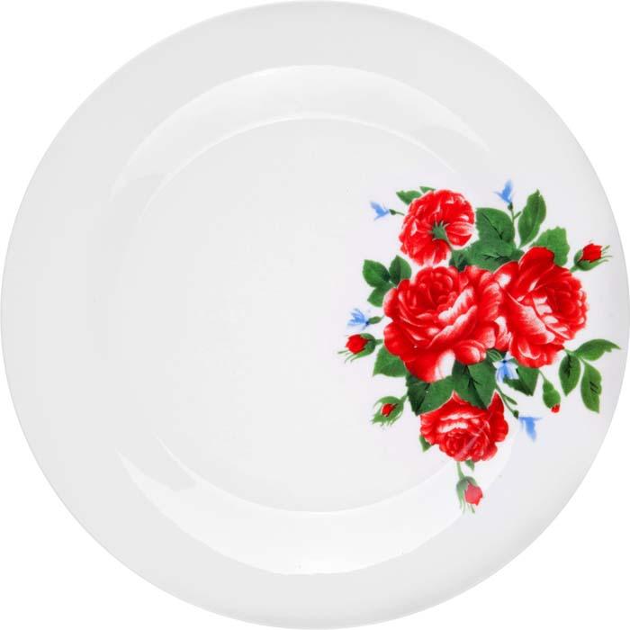 Тарелка обеденная Miolla Цветы, 23 смCS01-01/12Коллекция Цветы и Цветы 2 от Miolla представляет собой традиционную классику, выполненную в нежных цветовых решениях и изысканном дизайне. Коллекция включает в себя линейку: суповая тарелка 20 см, салатник 23 см, Подходит для использования в микроволновой печи, можно мыть в посудомоечной машине.