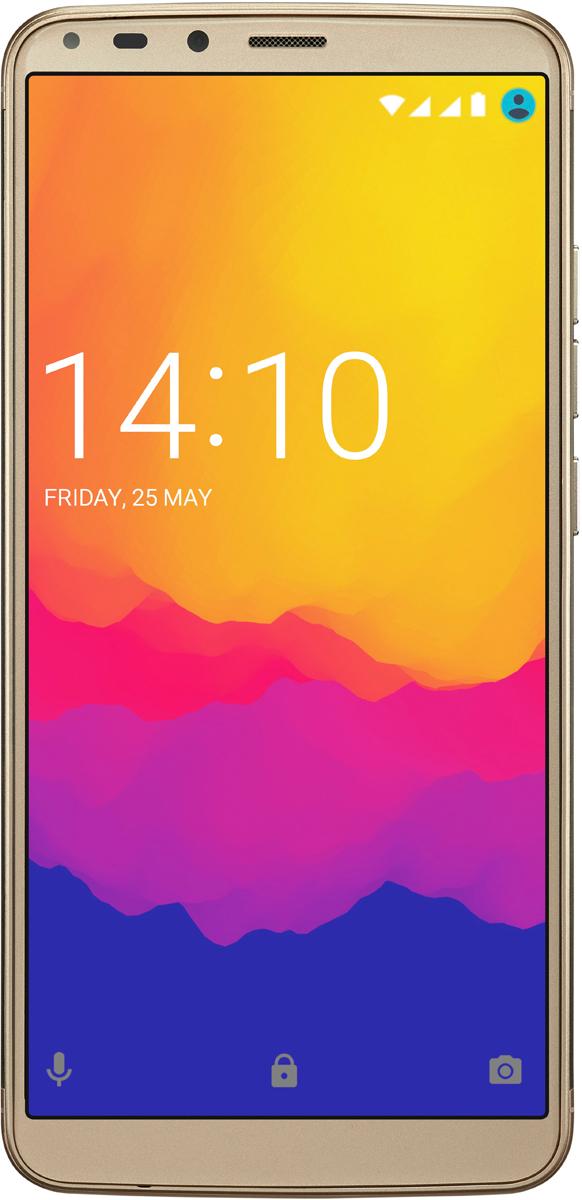 Смартфон Prestigio Grace P7 LTE 2/16GB gold смартфон prestigio grace p7 lte gold золотой