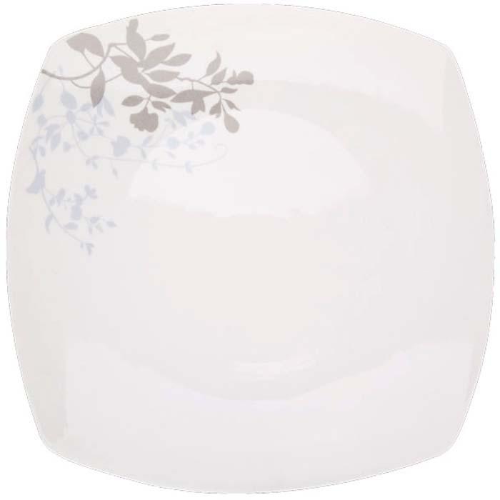 Тарелка обеденная Miolla, квадратная, 27,3 см цена