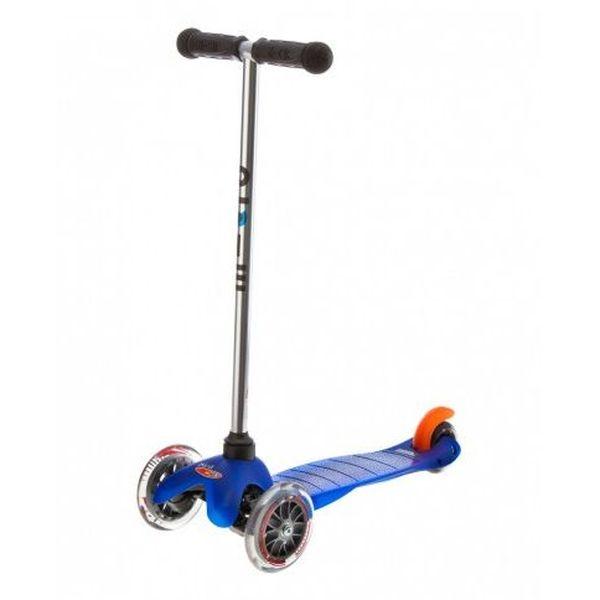 Трехколесный самокат Micro Mini (синий)