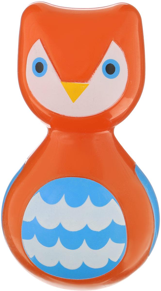 Ути Пути Неваляшка Сова цвет оранжевый игрушка для ванны ути пути мельница лягушка