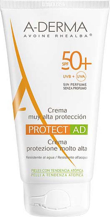 "A-Derma Солнцезащитный крем ""Protect AD SPF 50+"", 150 мл"