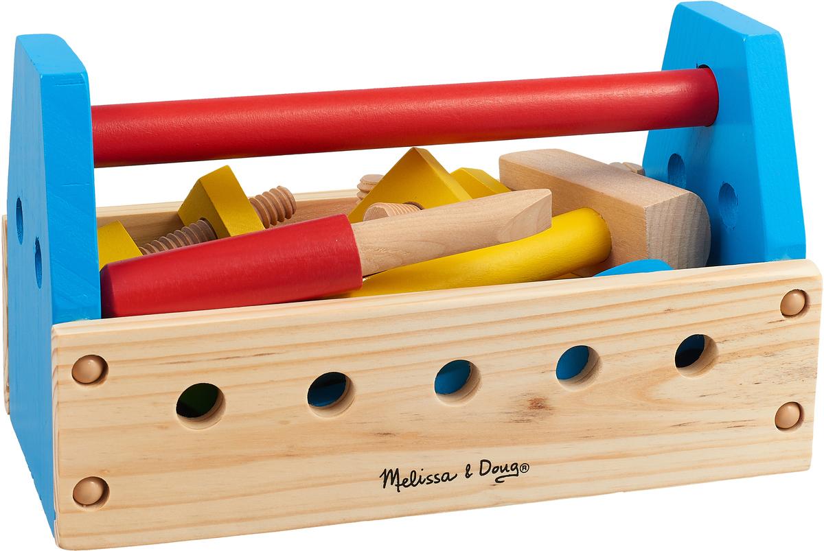 Melissa & Doug Обучающая игра Набор инструментов набор наклеек melissa