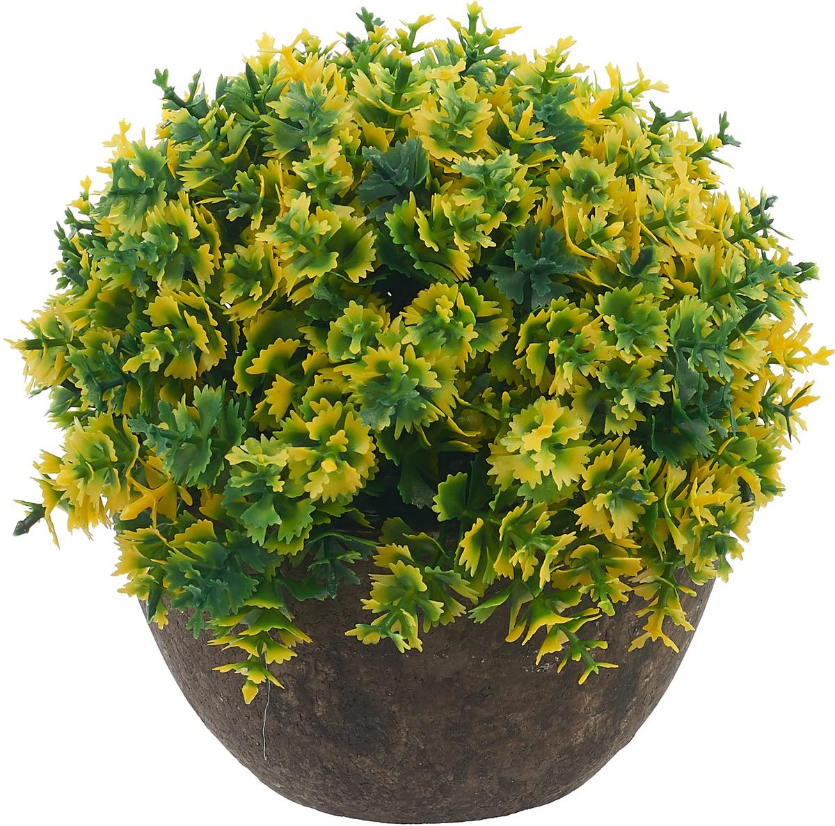 Композиция цветочная Engard Азалия, в кашпо, цвет: зеленый, 15 х 13,5 смB18зелИскусственные цветы Engard - это популярное дизайнерское решение для создания природного колорита и гармонии в пространстве. Декоративная азалия высотой 15 см выглядит аккуратно и довольно реалистично. Керамический горшок цвета эспрессо прекрасно впишется в любой интерьер. Рекомендуем!