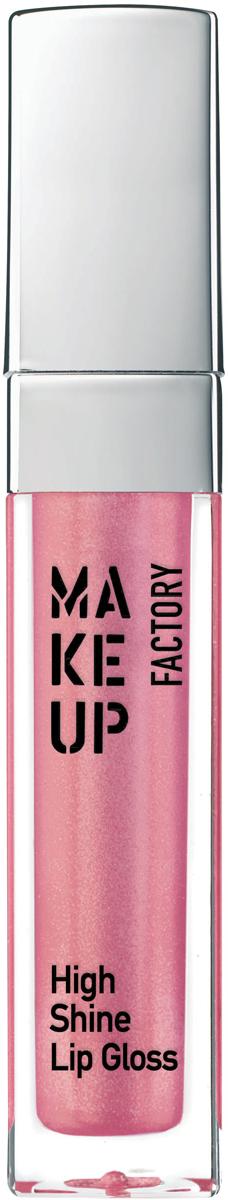Make up Factory Блеск для губ с эффектом влажных губ High Shine Lip Gloss №45, цвет: радужная роза, 6,5 мл