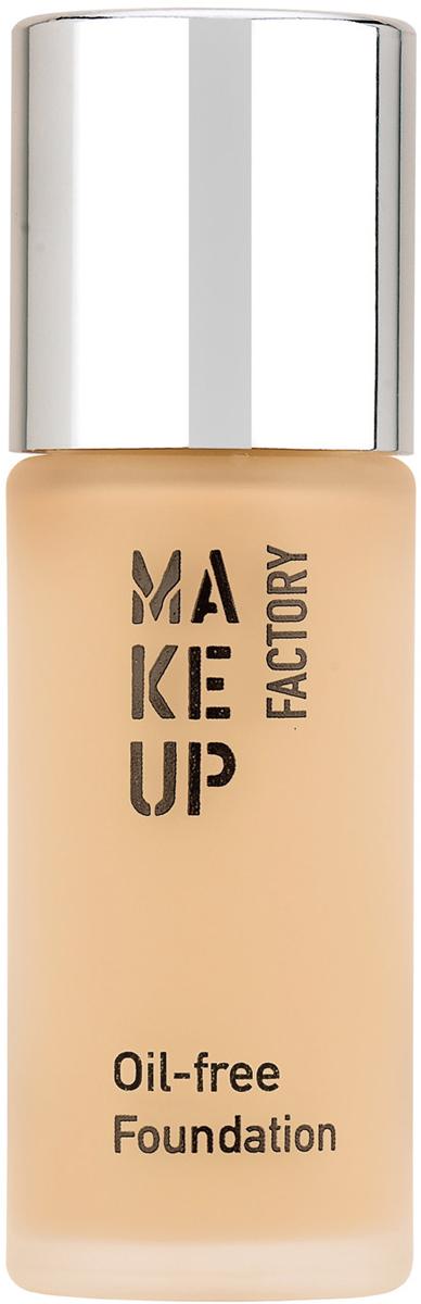 Make up Factory Oil-free Foundation Тональный крем матовый для нормальной и жирной кожи №02, цвет: атласная кожа, 20 мл недорого
