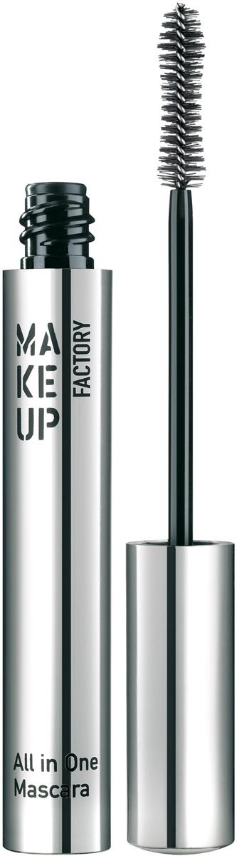 Make up Factory Тушь для ресниц комбинированная All In One Mascara № 01, цвет: черный, 9 мл недорого