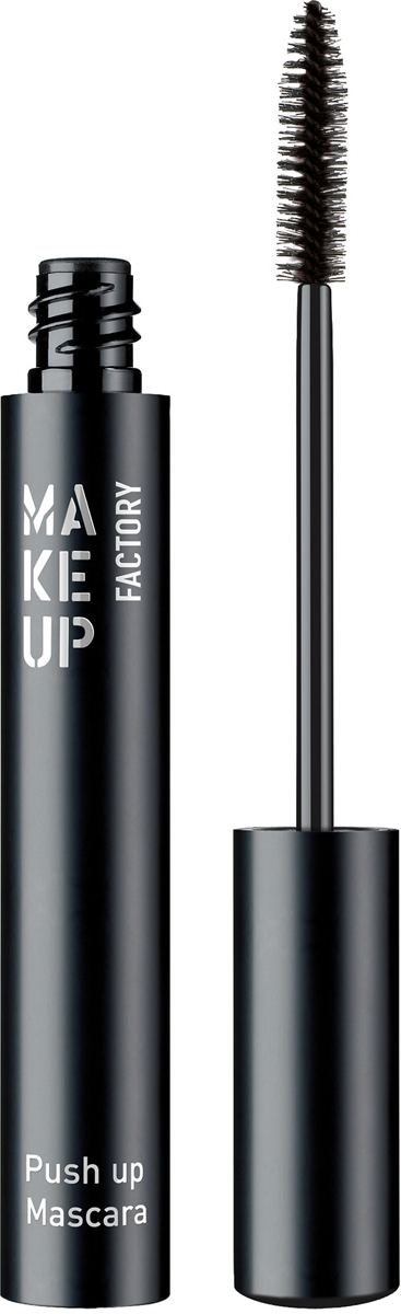 Make up Factory Тушь для ресниц с эффектом увеличения Push Up Mascara, цвет: черный, 9 мл