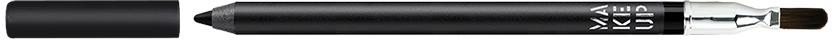 Make up Factory Smoky Liner long-lasting&Waterproof Карандаш для глаз устойчивый, водостойкий №01, цвет: насыщенный черный