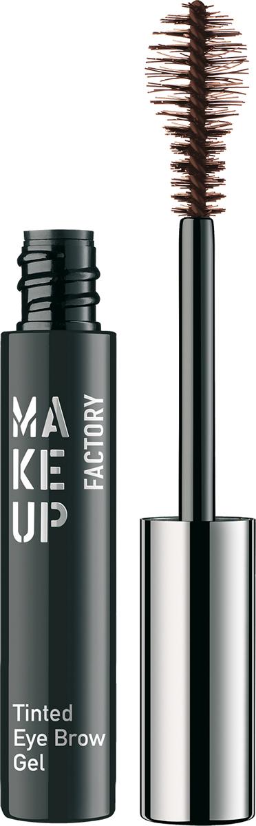 Make up Factory Гель-фиксатор для бровей Tinted Eye Brow Gel №03, цвет: темно-коричневый, 6 мл недорого