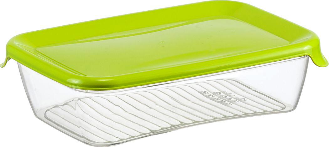 Контейнер для продуктов Idea Практик, цвет: салатовый, 0,5 л контейнер для мусора idea цвет бирюзовый салатовый 1 6 л