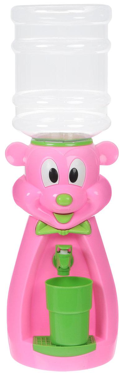 Кулер для воды Vatten Kids Mouse, Pink, со стаканчиком все цены