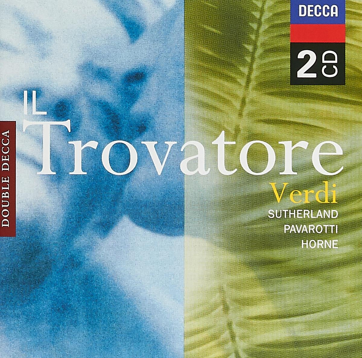 Bonynge, Richard. Ghiaurov, Nicolai Verdi: Il Trovatore verdi il trovatore blu ray