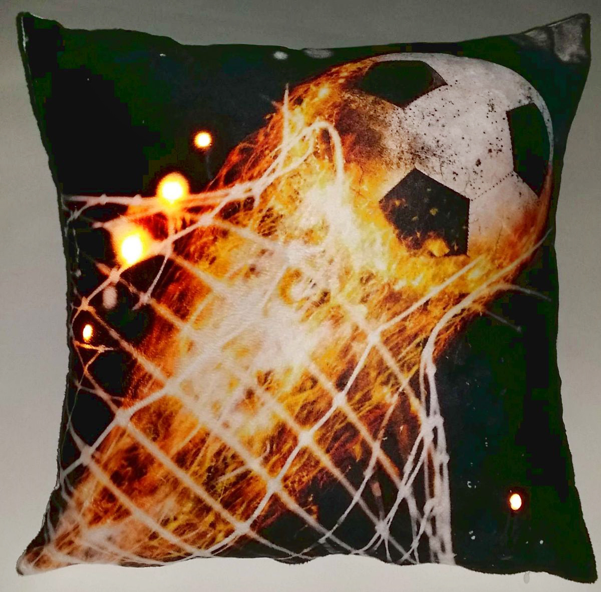 Подушка декоративная Led, со светодиодами, 40 х 40 см. 175061 подушка декоративная home queen 40 х 40 см