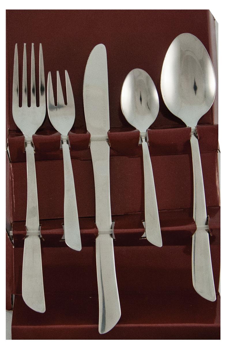 Набор столовых приборов Bayerhoff, цвет: серебристый, 45 предметов. BH-5187 салатная пара ложка вилка eme opera 2 шт нерж сталь