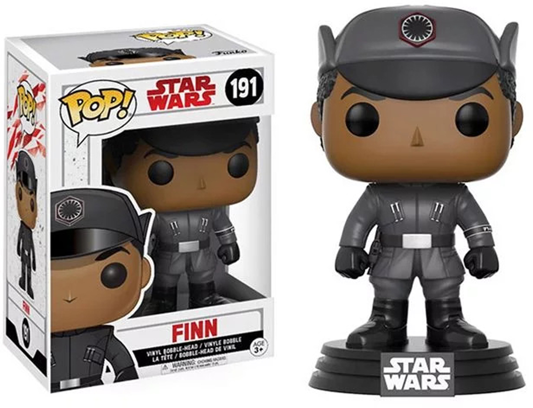 Funko POP! Bobble Фигурка Star Wars E8 TLJ Finn (POP 3) 14744 funko pop bobble фигурка star wars rogue one young jyn erso 14872