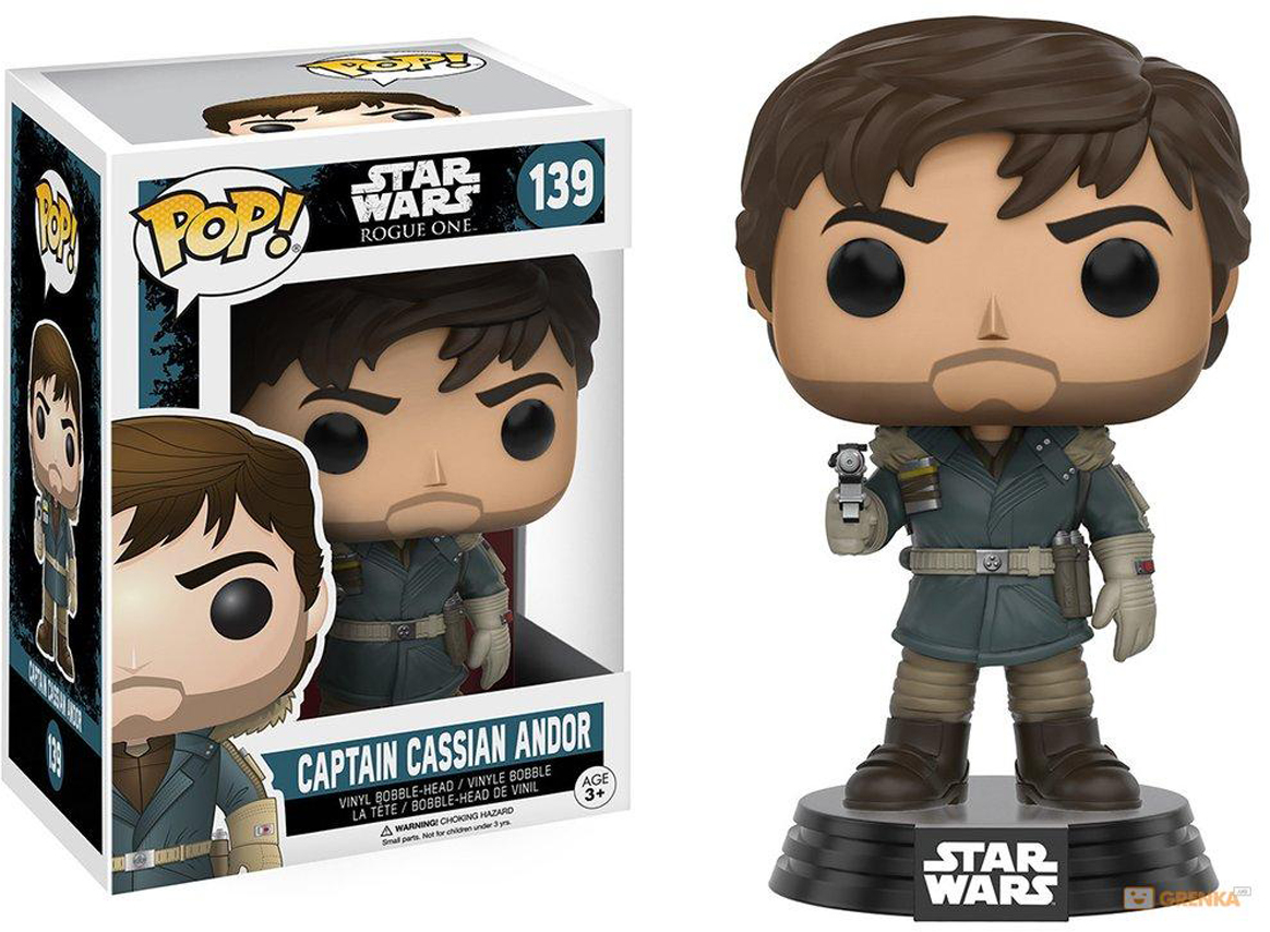 Funko POP! Bobble Фигурка Star Wars Rogue One Captain Cassian Andor Mountain Outfit 10452 funko pop bobble фигурка star wars rogue one young jyn erso 14872