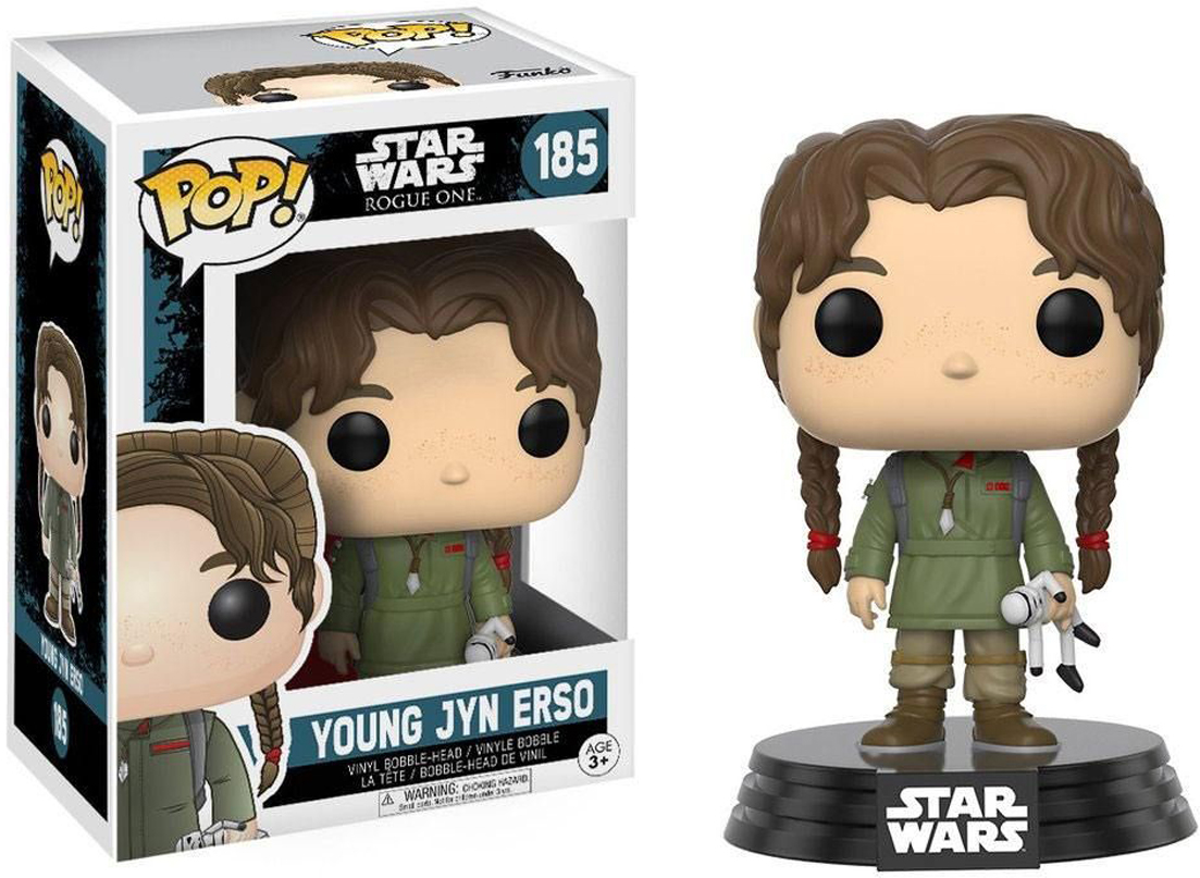 Funko POP! Bobble Фигурка Star Wars Rogue One Young Jyn Erso 14872 funko pop bobble фигурка star wars rogue one young jyn erso 14872