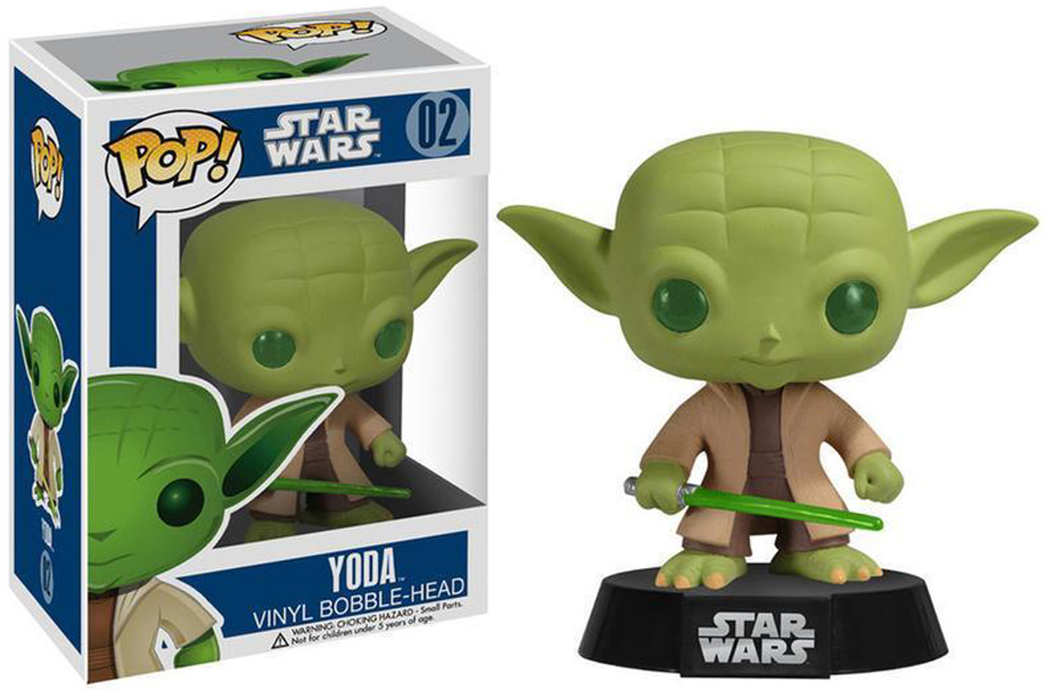 Funko POP! Bobble Фигурка Star Wars Yoda 2322