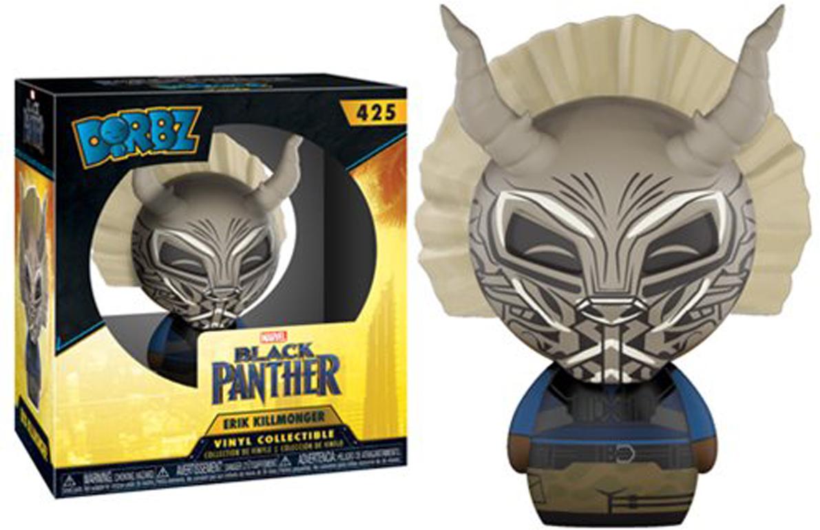 Funko Dorbz Фигурка Marvel Black Panther Killmonger 24087 фигурка funko black manta pop 9 31183