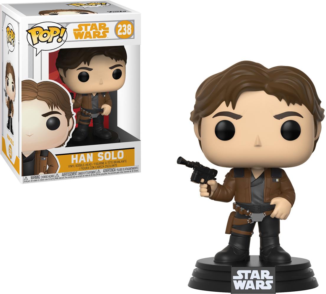 Funko POP! Bobble Фигурка Star Wars Solo Han Solo POP 3 26974 funko pop bobble фигурка star wars solo range trooper pop 19 27008