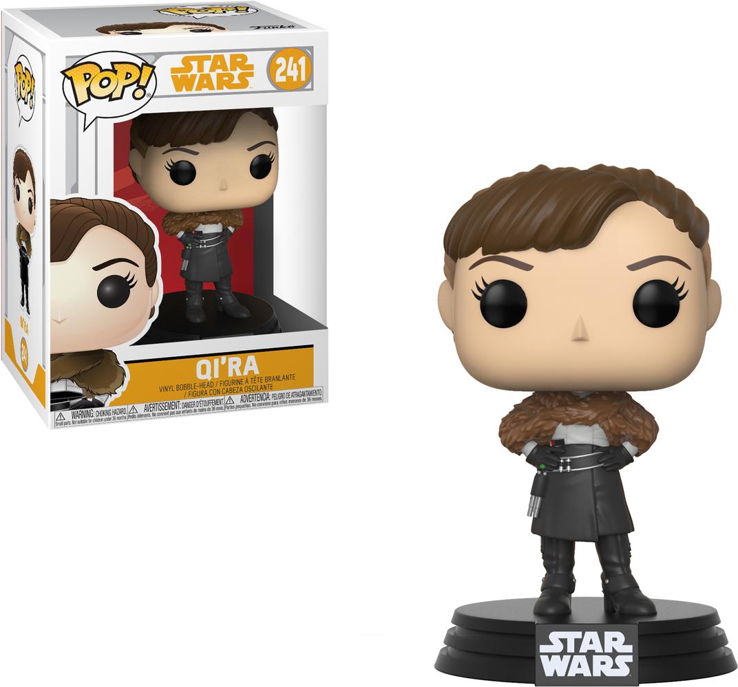 Funko POP! Bobble Фигурка Star Wars Solo Qi'Ra POP 6 26977 funko pop bobble фигурка star wars yoda 2322