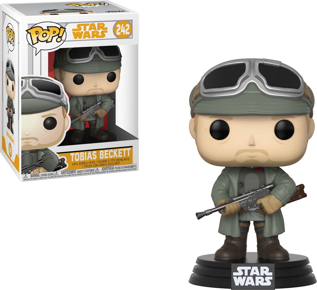 Funko POP! Bobble Фигурка Star Wars Solo Tobias Beckett w/ Goggles POP 8 26979 funko pop bobble фигурка star wars rogue one young jyn erso 14872