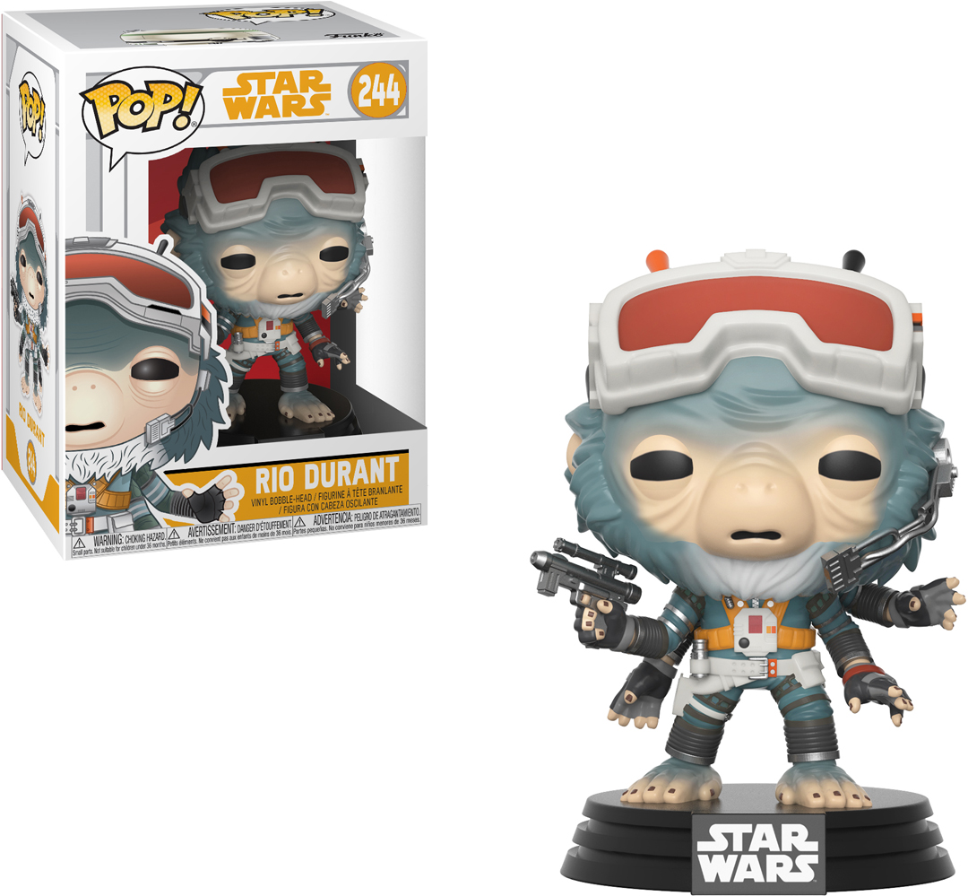 Funko POP! Bobble Фигурка Star Wars Solo Rio Durant POP 16 26992 funko pop bobble фигурка star wars rogue one young jyn erso 14872