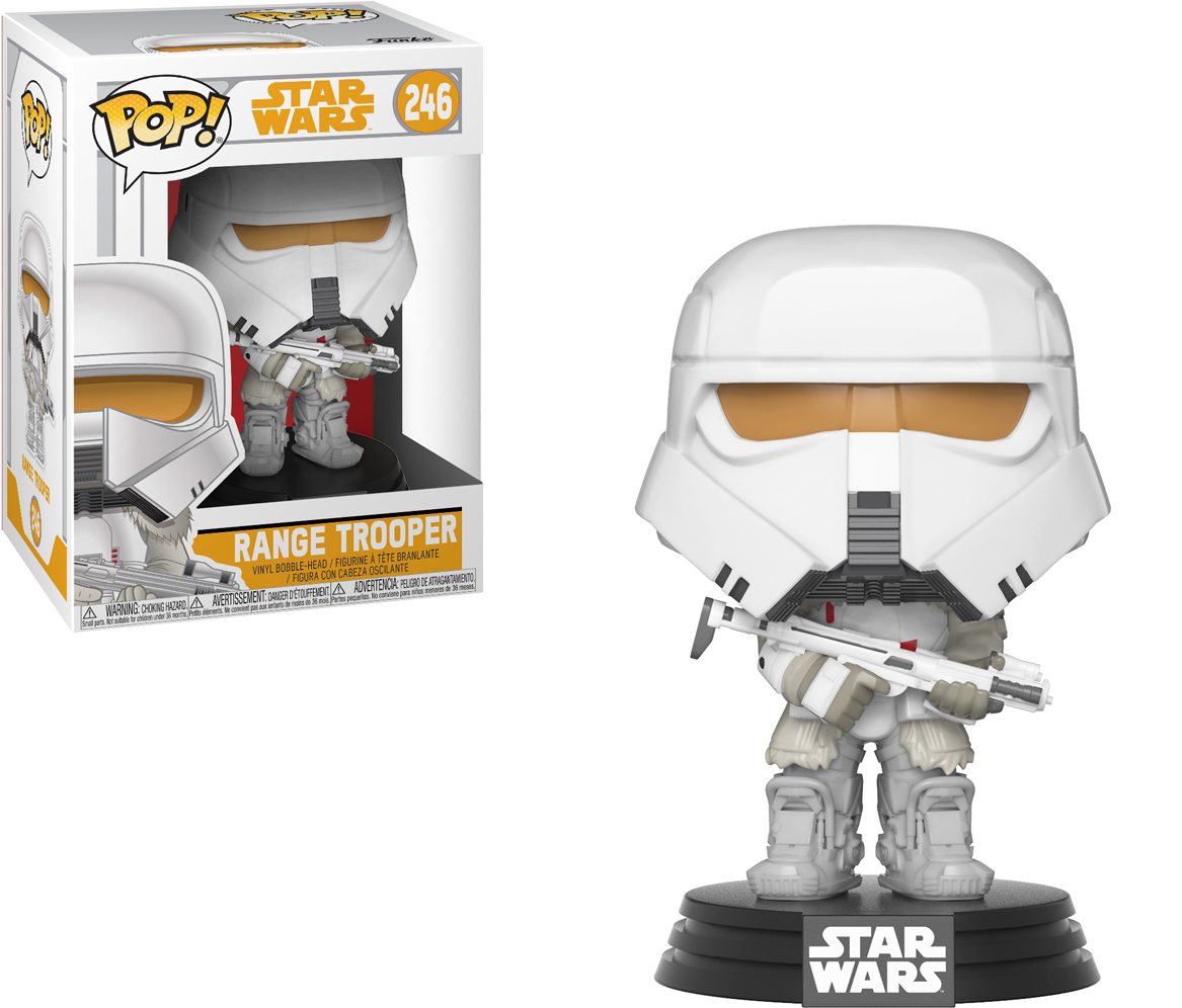 Funko POP! Bobble Фигурка Star Wars Solo Range Trooper POP 19 27008 funko pop bobble фигурка star wars rogue one young jyn erso 14872