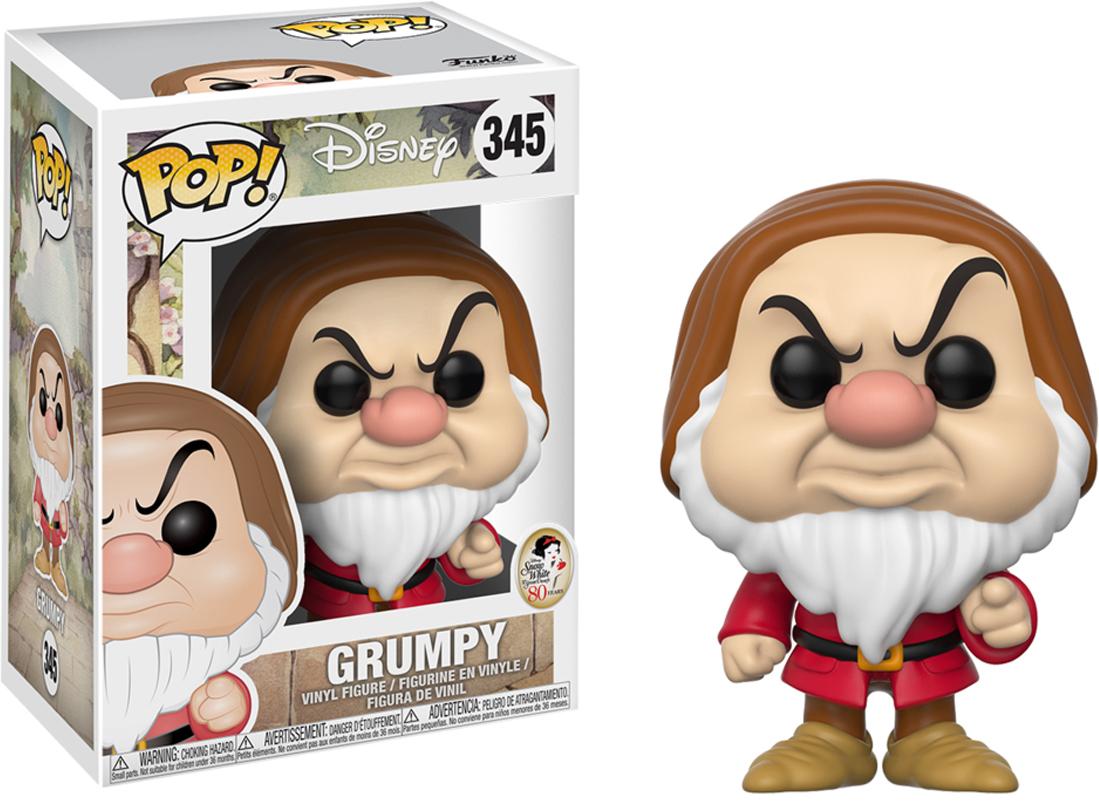 Funko POP! Vinyl Фигурка Disney Snow White Grumpy 21727 funko pop vinyl фигурка disney ratatouille linguini 13444