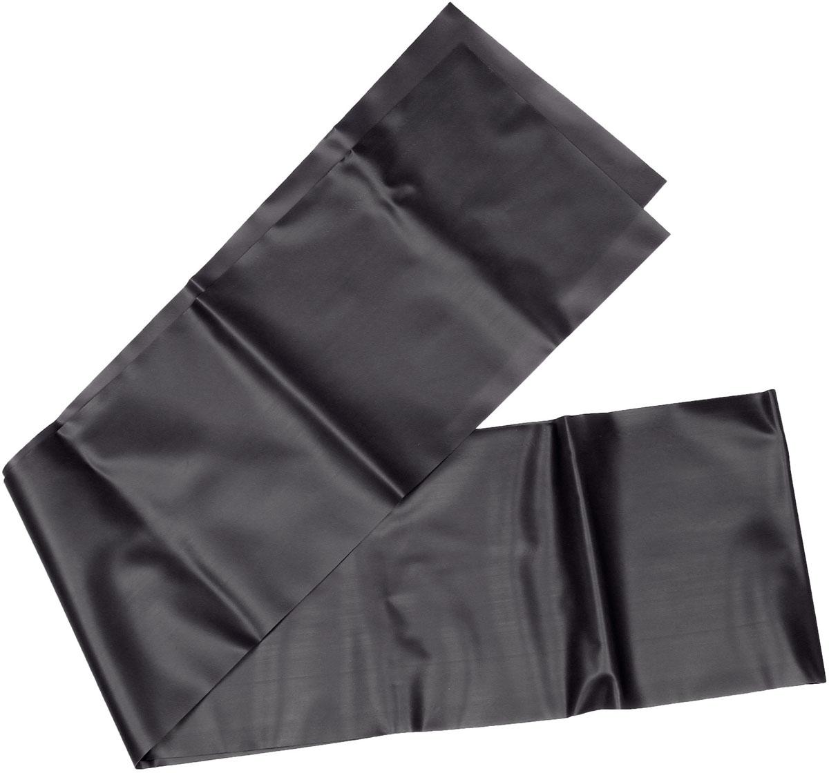 Эспандер ленточный Indigo Heavy, цвет: черный, 150 х 15 см цена