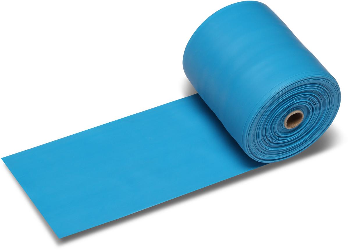 Эспандер ленточный Indigo Heavy, цвет: синий, 25 м цена