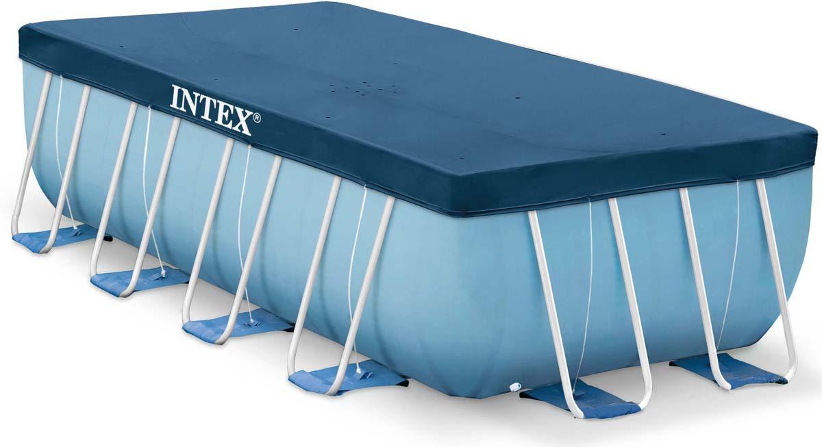 Тент от солнца Intex, 389 х 184 см тент от солнца для бассейна intex прямоугольный с сумкой с29030 голубой 960 х 466 см