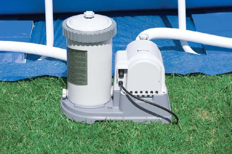Фильтр-насос для бассейна Intex, 9462л/ч, 220В картриджный фильтр насос intex 56636 28636 krystal clear с таймером