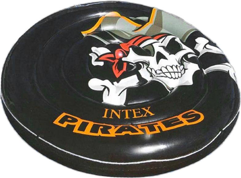 Ватрушка надувная Intex, 188 см шезлонг надувной intex 86х107х94см черное