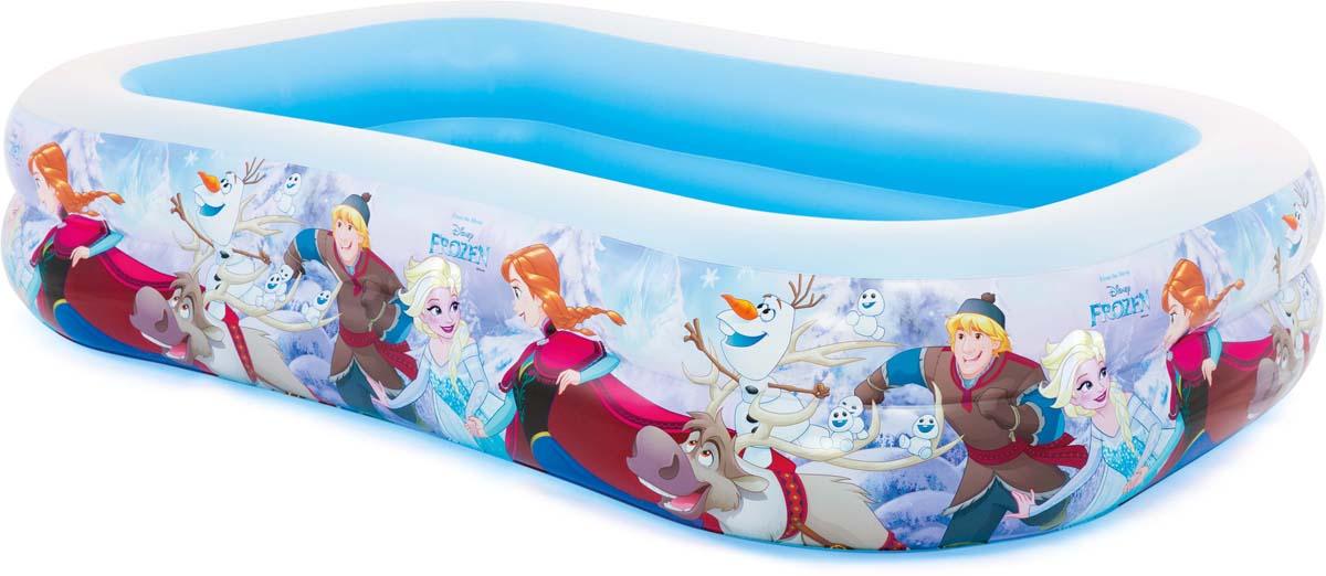 бассейны Бассейн надувной Intex Disney. Холодное сердце, 262 х 175 х 56 см