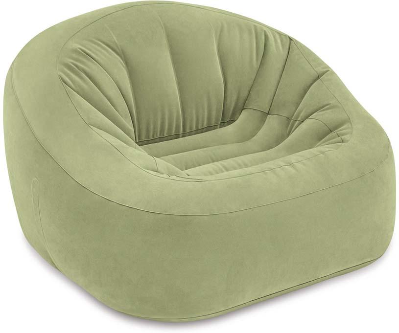 Кресло надувное для отдыха Intex Club Chair, 124 х 119 х 76 см надувное кресло onlitop медвежонок 120851