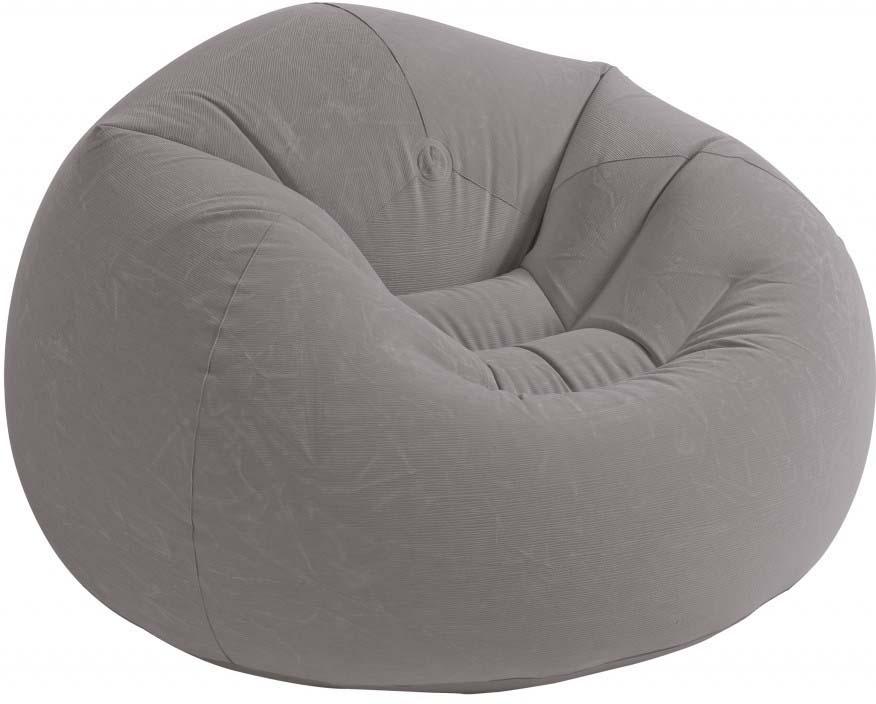 Кресло надувное Intex, 107 х 104 х 69 см цена