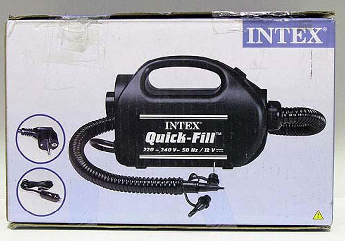 Насос электрический Intex, 220В. С68609 насос электрический bestway 62097 12v от прикуривателя