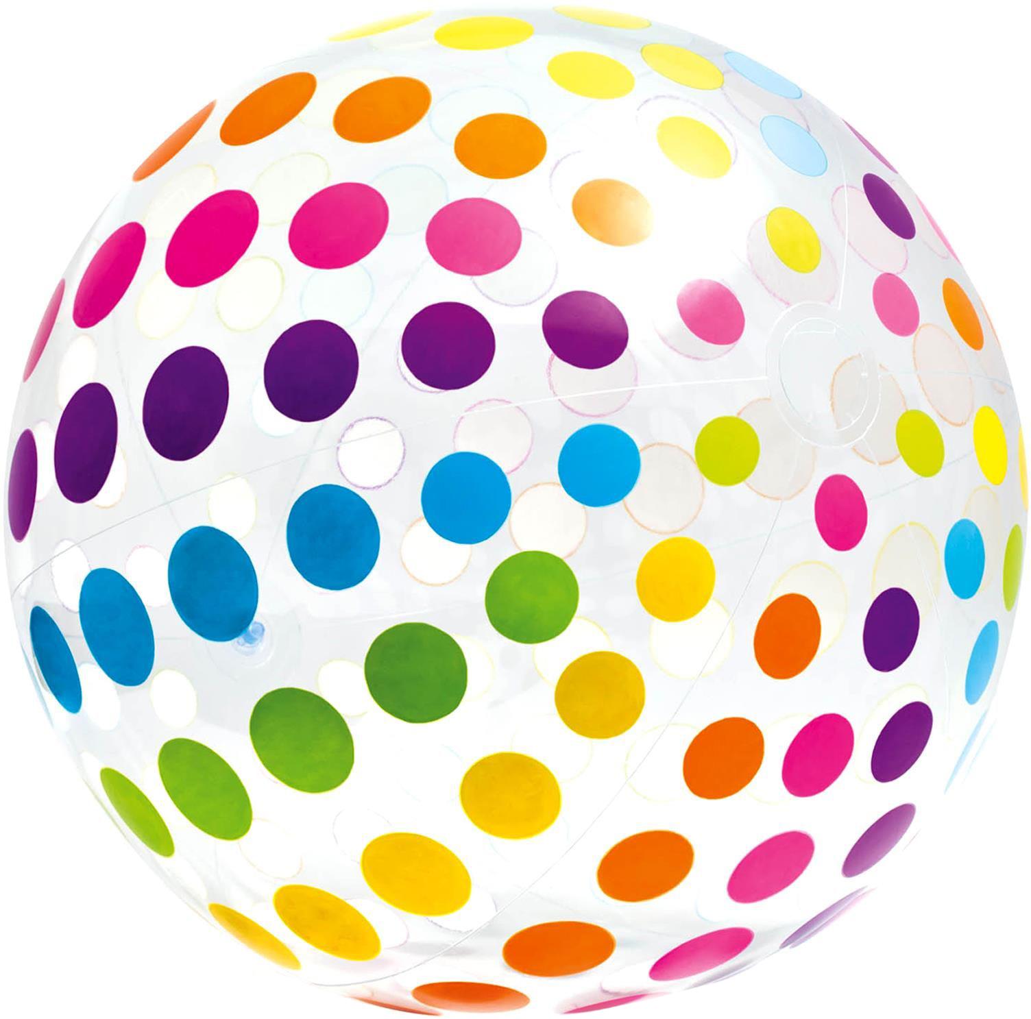 Мяч надувной Intex Гигант, 107 см надувной жилет intex 59661