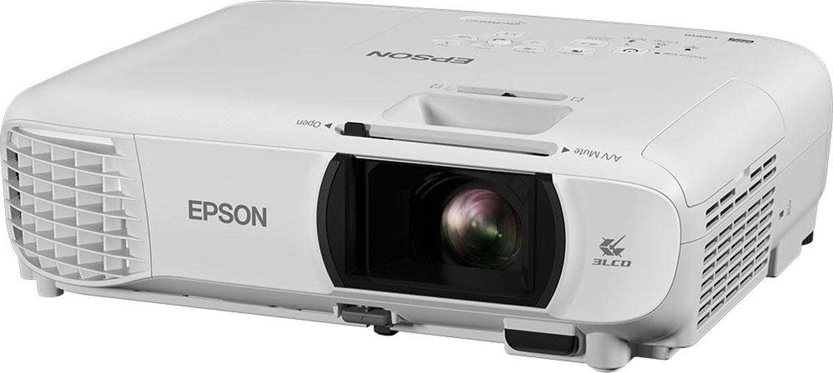 Мультимедийный проектор Epson EH-TW610, White