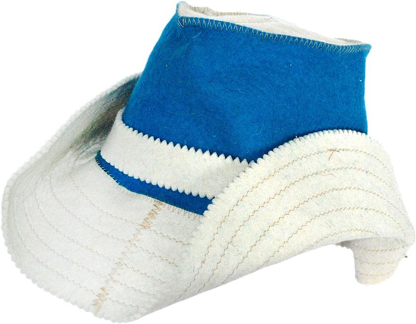 Колпак для сауны Ecology Sauna Ковбой, цвет: синий, белый колпак для сауны ecology sauna двухцветный цвет синий белый