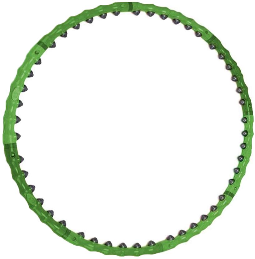 """Обруч массажный """"Bradex"""", разборный, цвет: зеленый"""