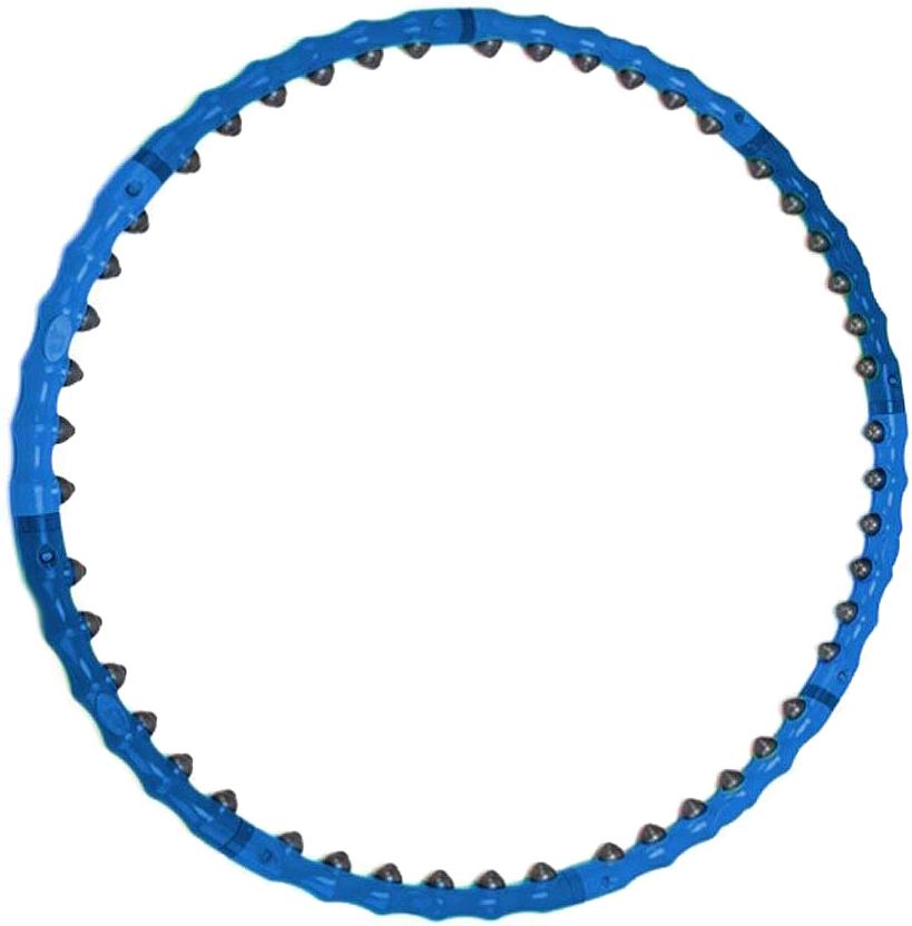 """Обруч массажный """"Bradex"""", разборный, цвет: синий"""