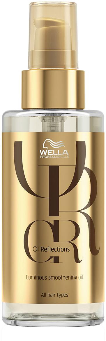Wella Oil Reflections Luminous Smoothening Oil Разглаживающее масло для интенсивного блеска волос, 100 мл wella oil reflections luminous reval shampoo шампунь для интенсивного блеска волос 1000 мл