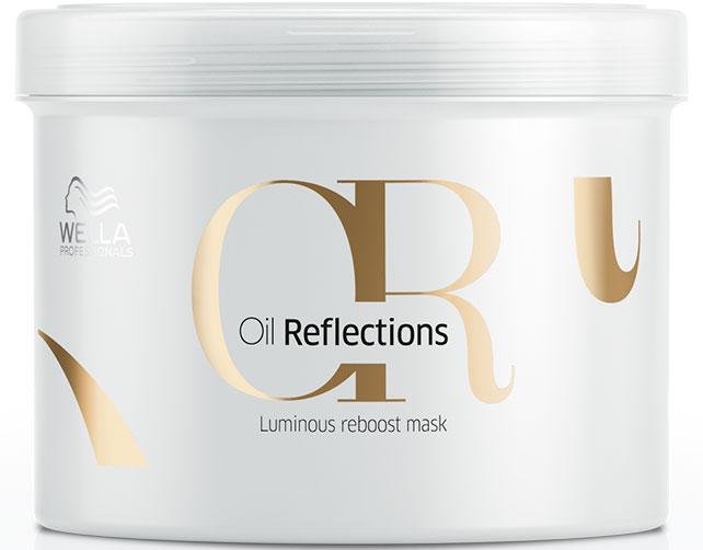 Wella Oil Reflections Luminous Reboost Mask - Маска для интенсивного блеска волос 500 мл wella oil reflections luminous reval shampoo шампунь для интенсивного блеска волос 1000 мл