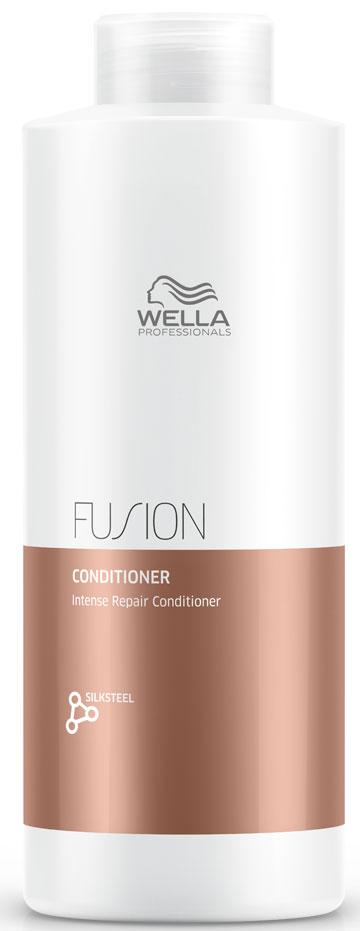 Wella Professionals Fusion Conditioner - Интенсивно восстанавливающий бальзам 1000 мл интенсивный восстанавливающий бальзам 200 мл wella professional fusion